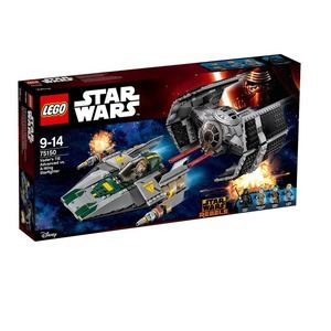 Lego Star Wars 75150 TIE Advanced di Vader contro A-Wing Starfighter