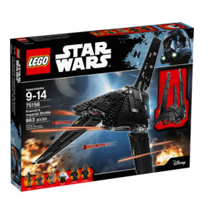 Lego Star Wars 75156 Shuttle Imperiale di Krennic