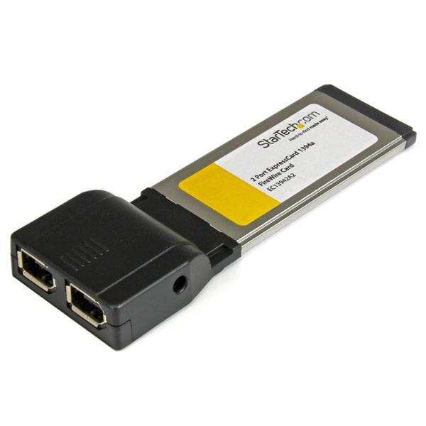 StarTech.com ExpressCard 1394a 2 porte (EC13942A2)