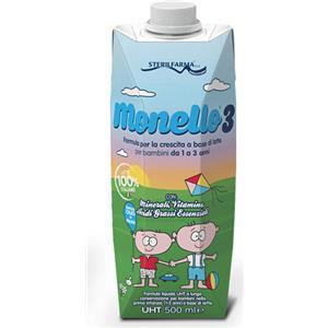 Sterilfarma Monello 3 latte liquido 500ml