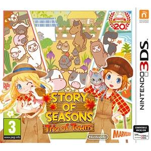 Nintendo Story of Seasons Trio of Towns