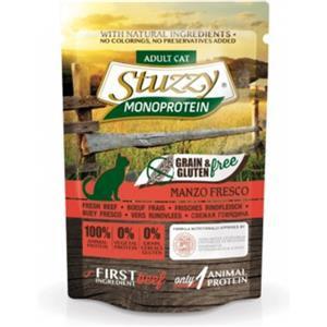 Stuzzy Cat Monoprotein Grain & Gluten Free Manzo Fresco