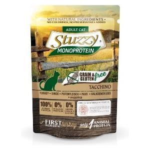 Stuzzy Cat Monoprotein Grain & Gluten Free Tacchino
