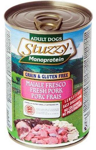 Stuzzy Dog Monoprotein Maiale - umido