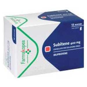 Farmakopea Subitene 10 compresse effervescenti 400mg