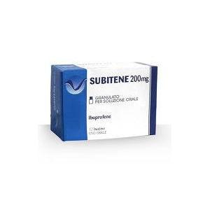 Farmakopea Subitene 12 bustine 200mg granulato per soluzione orale