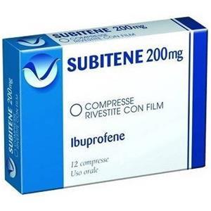 Farmakopea Subitene 12 compresse rivestite 200mg