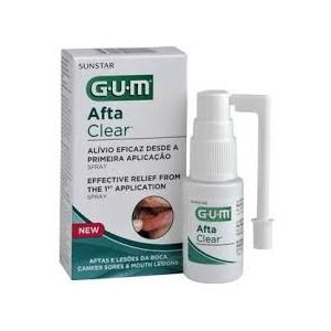 Sunstar Gum Spray Afta Clear
