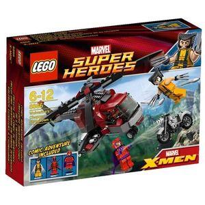 Lego Super Heroes 6866 L'elicottero di Wolverine