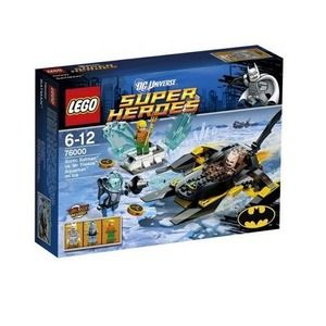 Lego Super Heroes 76000 Batman contro Mr. Freeze: Aquaman sul ghiaccio