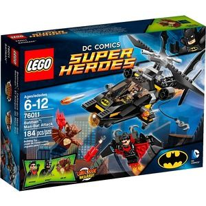 Lego Super Heroes 76011 Batman: Man-Bat all'attacco