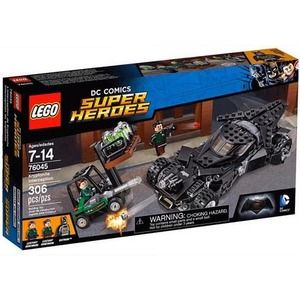 Lego Super Heroes 76045 L'intercettamento della Kryptonite