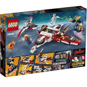 Lego Super Heroes 76049 Missione Spaziale dell'Avent Jet