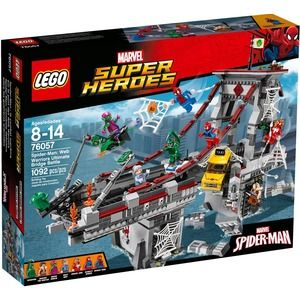 Lego Super Heroes 76057 Spider-Man Battaglia sul ponte dei web warriors