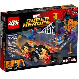 Lego Super Heroes 76058 Spider-Man Ghost Rider si Allea