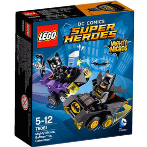 Lego Super Heroes 76061 Mighty Batman Contro Catwoman