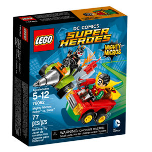 Lego Super Heroes 76062 Mighty Robin Contro Bane