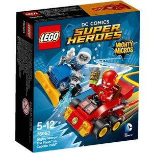 Lego Super Heroes 76063 Mighty Flash Contro Captain Cold