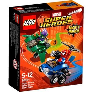 Lego Super Heroes 76064 Mighty Micros Spider Man contro Goblin