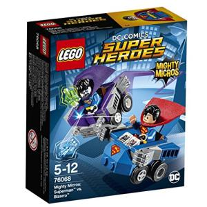 Lego DC Comics Super Heroes 76068 Mighty Micros: Superman contro Bizarro