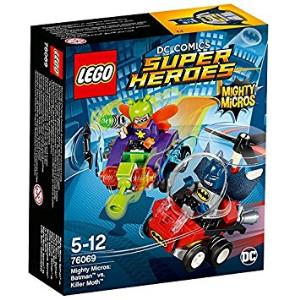 Lego DC Comics Super Heroes 76069 Mighty Micros: Batman contro Killer Moth