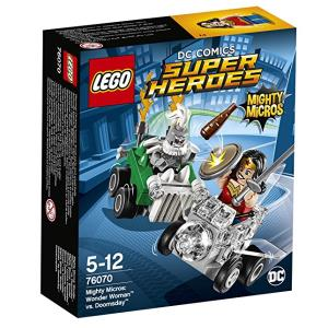 Lego DC Comics Super Heroes 76070 Mighty Micros: Wonder Woman contro Doomsday