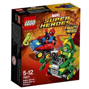 Lego Marvel Super Heroes 76071 Mighty Micros: Spider-Man contro Scorpione