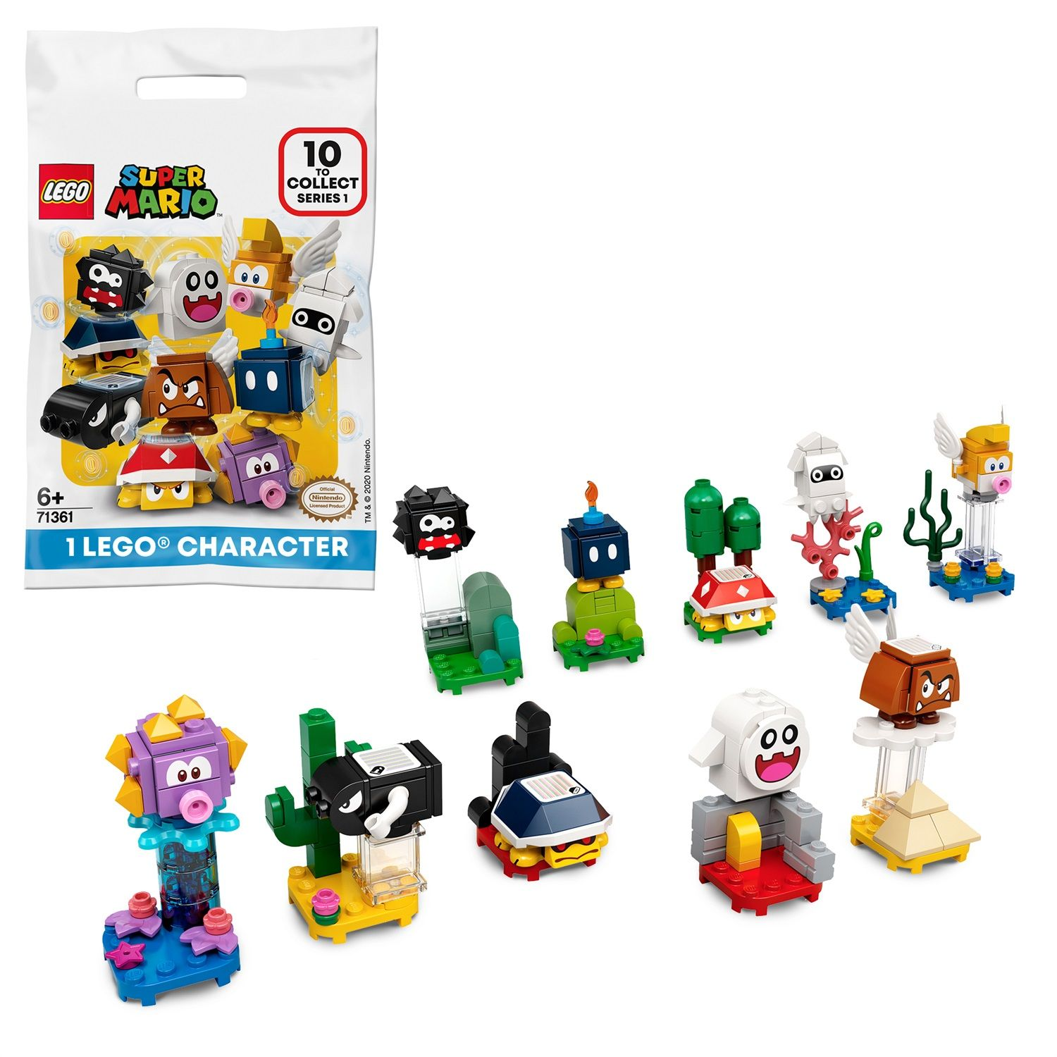 Lego Super Mario 71361 Pack Personaggi