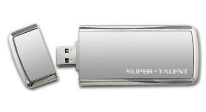 Super Talent SuperCrypt 128 GB
