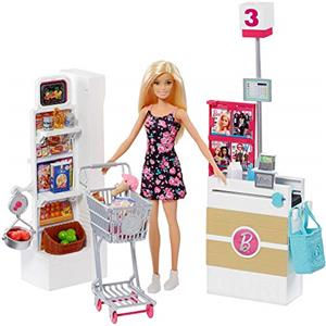 Barbie Supermercato con Carrello