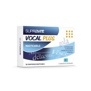 Supravit Vocal Plus 30compresse