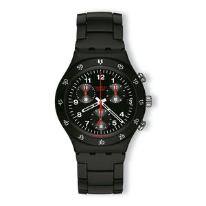 Swatch Black Red