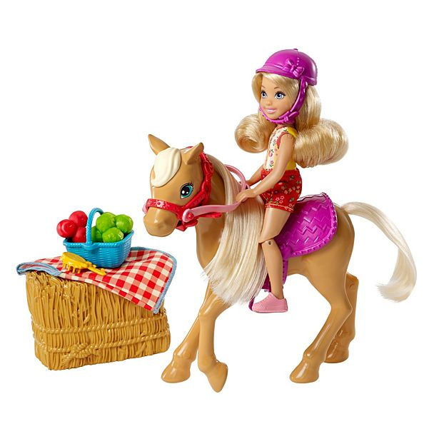 Barbie Sweet Orchard Farm Chelsea con Pony