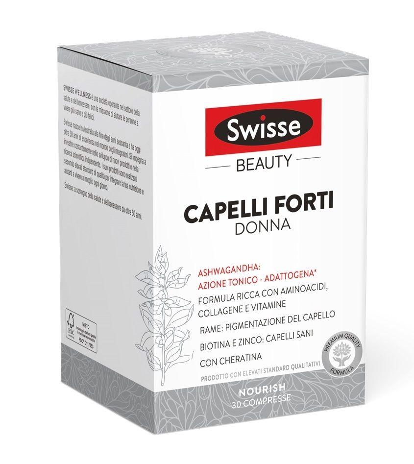 Swisse Capelli Forti Donna Compresse 30 pezzi
