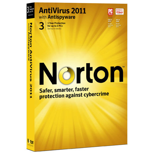 Norton AntiVirus 2011 (3 PC)