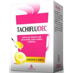 Angelini Tachifludec 16 bustine limone e miele