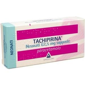 Angelini Tachipirina neonati 10 supposte 62,5mg