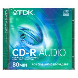 Tdk audio cd r 80 min