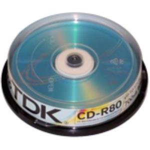 TDK CD-R 80 Min. 52x (10 pcs cakebox)