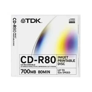 TDK CD-R 80 Min. 52x Printable