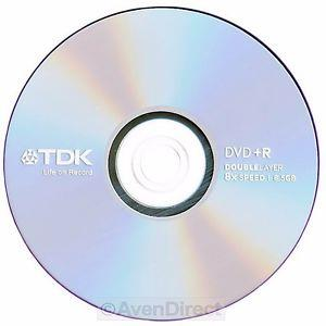 TDK DVD+R DL 8.5 GB 8x