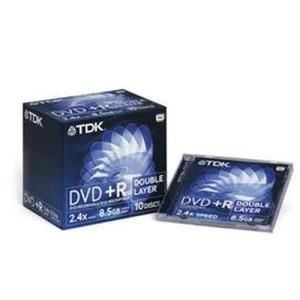 TDK DVD+R DL 8.5 GB
