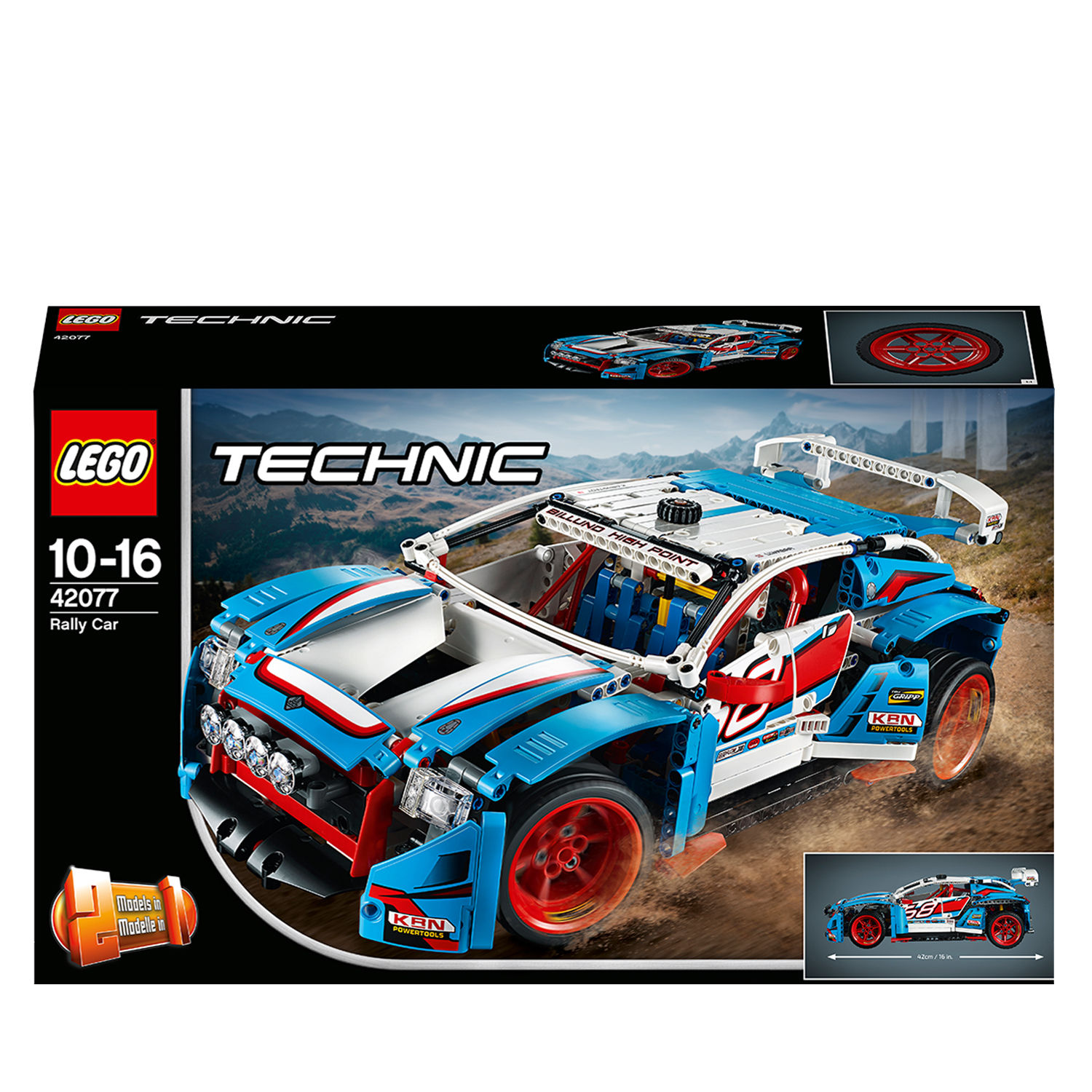 Lego Technic 42077 Auto da rally