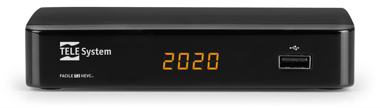 TELE System FACILE/01 DVB-T2 HEVC
