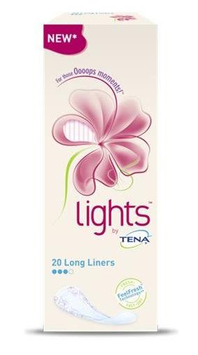 Tena Lady Lights Lunghi