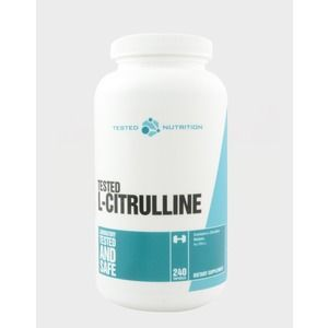 Tested nutrition l citrulline 240capsule