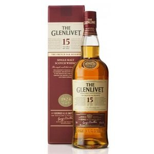 The Glenlivet Scotch 15 Years Old French Oak Reserve