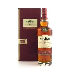 The Glenlivet Scotch 21 years old