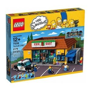 Lego The Simpsons 71016 Jet Market