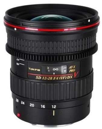Tokina AT-X 12-28mm f/4.0 PRO DX V - Canon EF-S